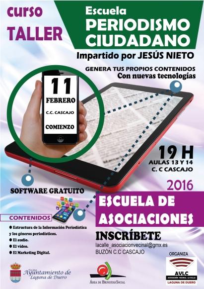 cartel A3 Periodismo C-AV LA CALLE